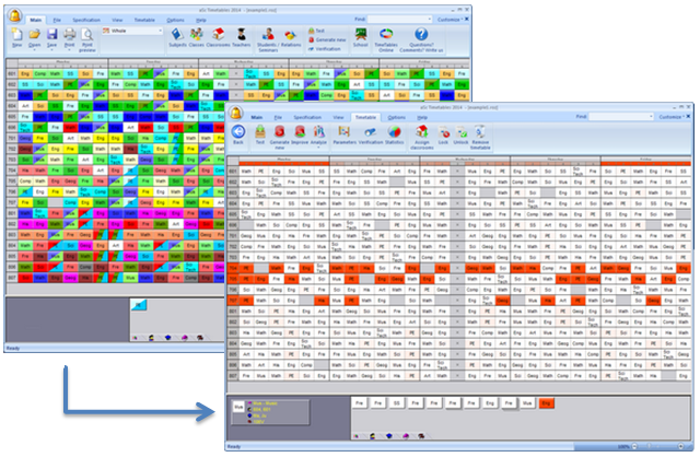 What's new in version 2014 - aSc Timetables
